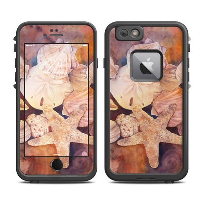 Lifeproof iPhone 6 Plus Fre Case Skin - Sea Shells
