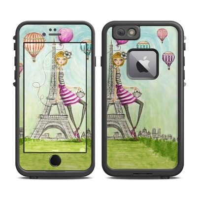 Lifeproof iPhone 6 Plus Fre Case Skin - The Sights Paris