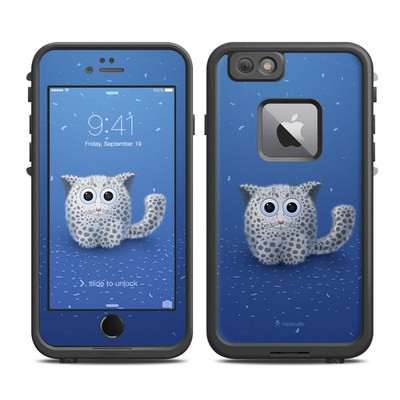 Lifeproof iPhone 6 Plus Fre Case Skin - Snow Leopard