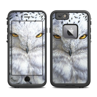 Lifeproof iPhone 6 Plus Fre Case Skin - Snowy Owl