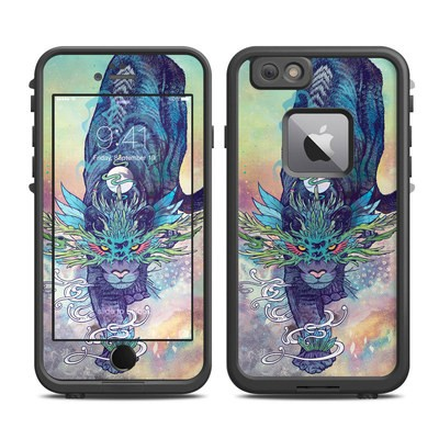 Lifeproof iPhone 6 Plus Fre Case Skin - Spectral Cat