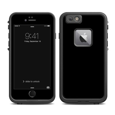 Lifeproof iPhone 6 Plus Fre Case Skin - Solid State Black