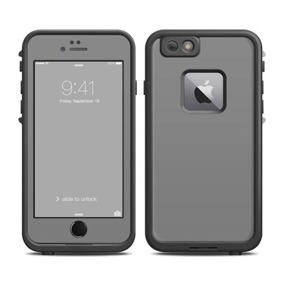Lifeproof iPhone 6 Plus Fre Case Skin - Solid State Grey