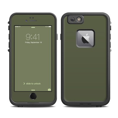 Lifeproof iPhone 6 Plus Fre Case Skin - Solid State Olive Drab