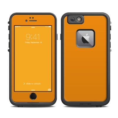 Lifeproof iPhone 6 Plus Fre Case Skin - Solid State Orange