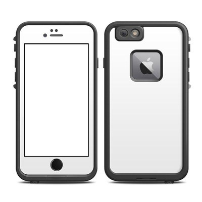 Lifeproof iPhone 6 Plus Fre Case Skin - Solid State White
