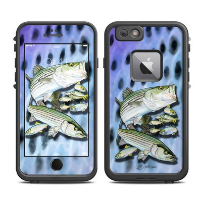 Lifeproof iPhone 6 Plus Fre Case Skin - Striped Bass