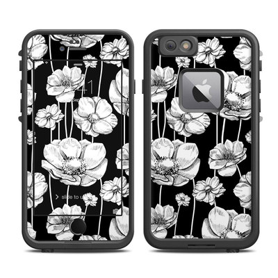 Lifeproof iPhone 6 Plus Fre Case Skin - Striped Blooms