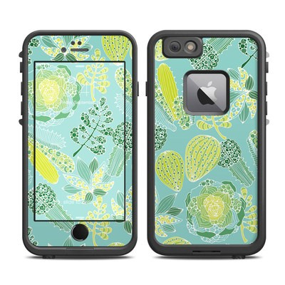 Lifeproof iPhone 6 Plus Fre Case Skin - Succulents