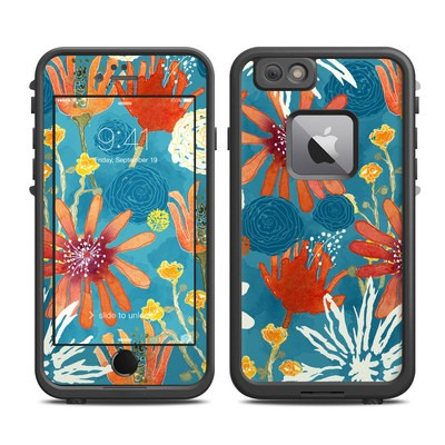 Lifeproof iPhone 6 Plus Fre Case Skin - Sunbaked Blooms