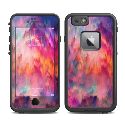 Lifeproof iPhone 6 Plus Fre Case Skin - Sunset Storm
