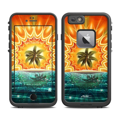 Lifeproof iPhone 6 Plus Fre Case Skin - Sundala Tropic