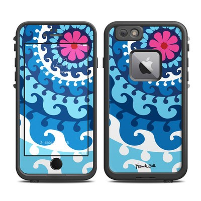 Lifeproof iPhone 6 Plus Fre Case Skin - Sus Blue