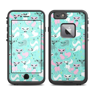 Lifeproof iPhone 6 Plus Fre Case Skin - Swanky Kittens