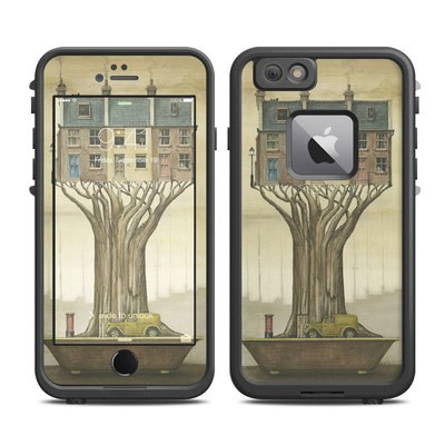 Lifeproof iPhone 6 Plus Fre Case Skin - Terraced Houses