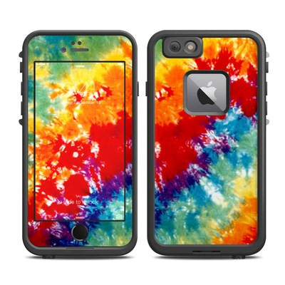 Lifeproof iPhone 6 Plus Fre Case Skin - Tie Dyed