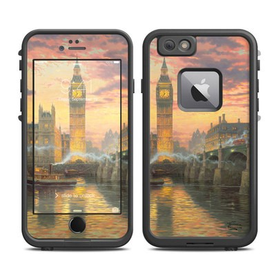Lifeproof iPhone 6 Plus Fre Case Skin - Thomas Kinkades London