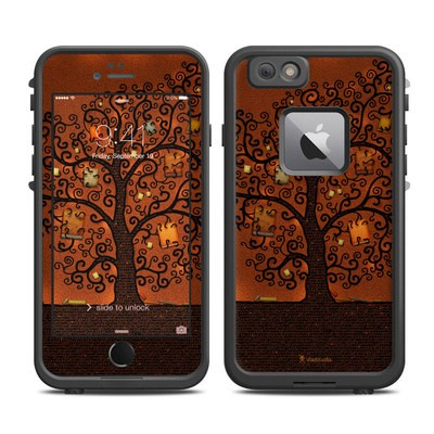 Lifeproof iPhone 6 Plus Fre Case Skin - Tree Of Books