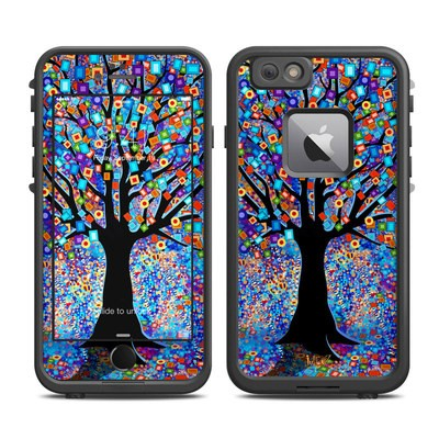 Lifeproof iPhone 6 Plus Fre Case Skin - Tree Carnival