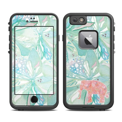 Lifeproof iPhone 6 Plus Fre Case Skin - Tropical Elephant