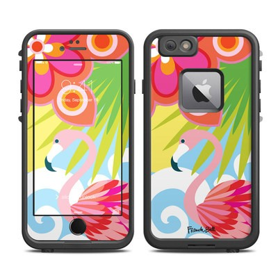 Lifeproof iPhone 6 Plus Fre Case Skin - Tropic Fantasia