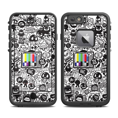 Lifeproof iPhone 6 Plus Fre Case Skin - TV Kills Everything