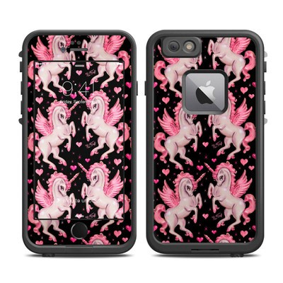 Lifeproof iPhone 6 Plus Fre Case Skin - Unicorn Pegasus