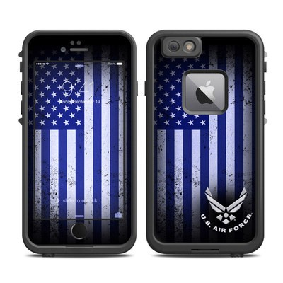 Lifeproof iPhone 6 Plus Fre Case Skin - USAF Flag