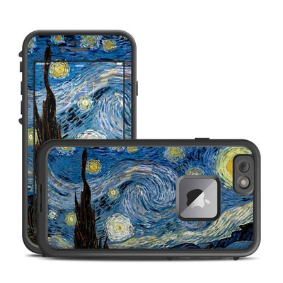 Lifeproof iPhone 6 Plus Fre Case Skin - Starry Night