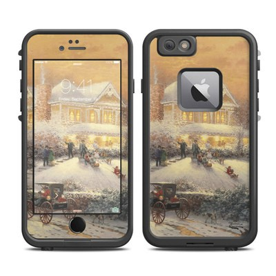 Lifeproof iPhone 6 Plus Fre Case Skin - Victorian Christmas