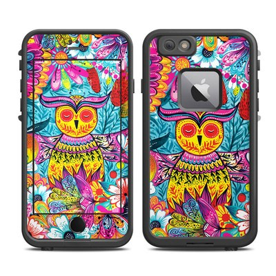 Lifeproof iPhone 6 Plus Fre Case Skin - Vivid Owl