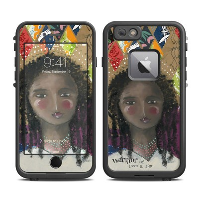Lifeproof iPhone 6 Plus Fre Case Skin - Warrior of Love