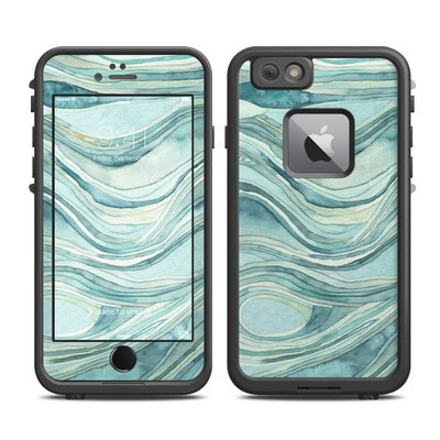 Lifeproof iPhone 6 Plus Fre Case Skin - Waves