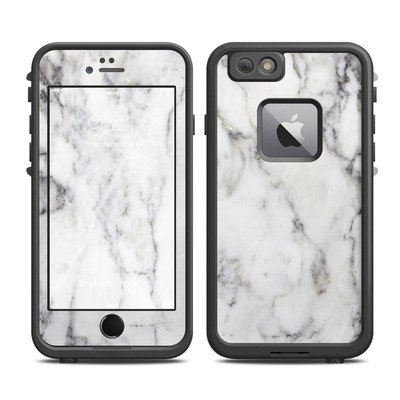 Lifeproof iPhone 6 Plus Fre Case Skin - White Marble