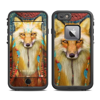 Lifeproof iPhone 6 Plus Fre Case Skin - Wise Fox