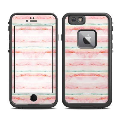 Lifeproof iPhone 6 Plus Fre Case Skin - Watercolor Sunset