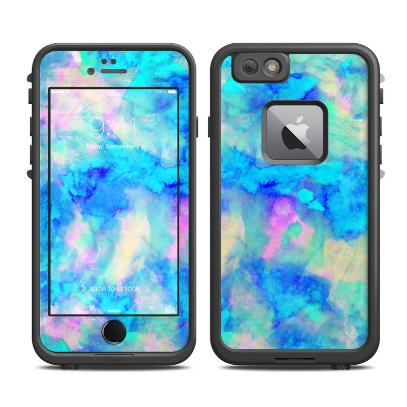 best website 3c348 688fe Lifeproof iPhone 6 Plus Fre Case Skin - Electrify Ice Blue