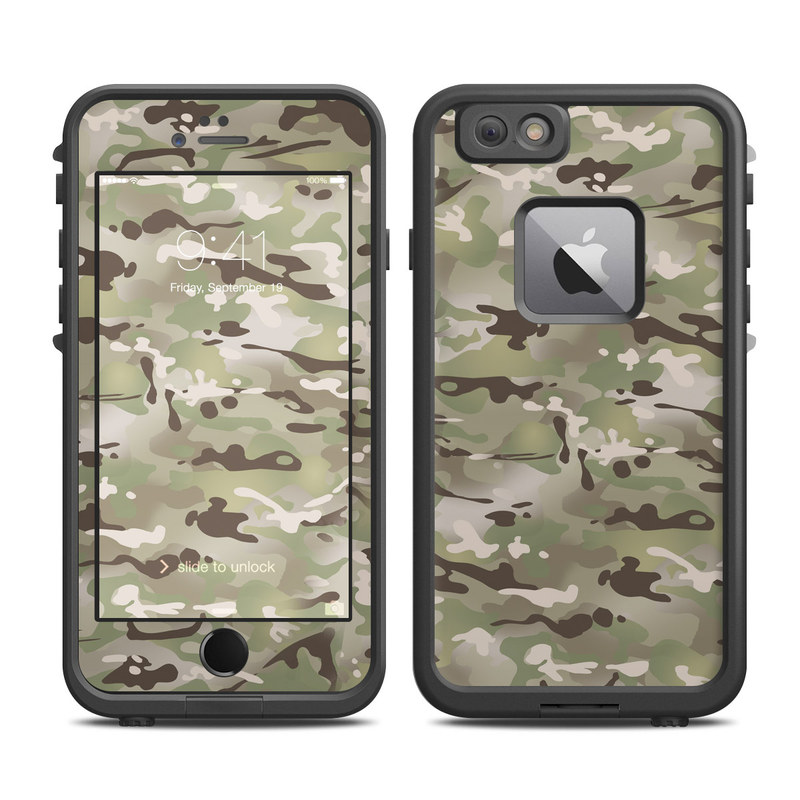 low priced 5001c 3a169 Lifeproof iPhone 6 Plus Fre Case Skin - FC Camo