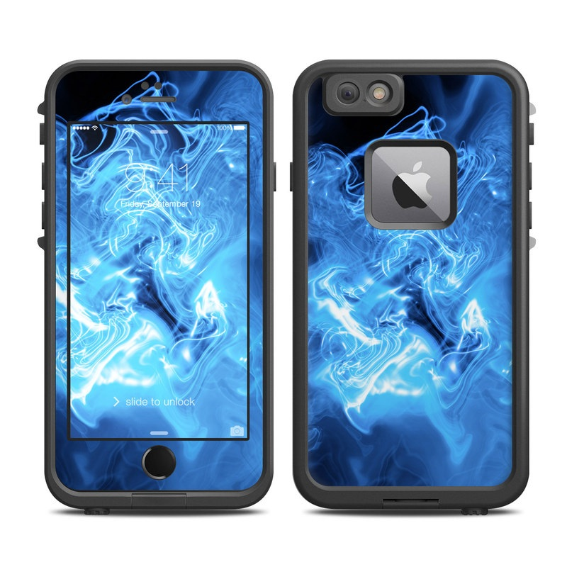 official photos 1c1b8 7de9d Lifeproof iPhone 6 Plus Fre Case Skin - Blue Quantum Waves