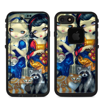 Lifeproof iPhone 7 Fre Case Skin - Alice & Snow White