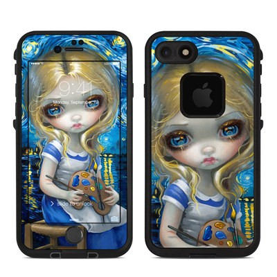 Lifeproof iPhone 7 Fre Case Skin - Alice in a Van Gogh