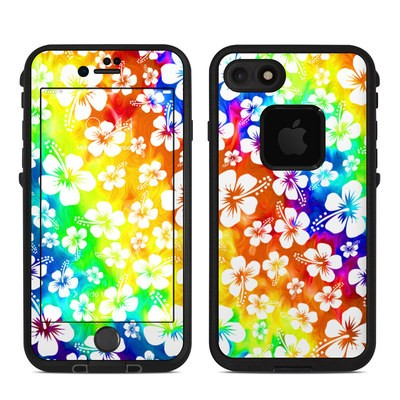 Lifeproof iPhone 7 Fre Case Skin - Aloha Swirl