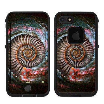 Lifeproof iPhone 7-8 Fre Case Skin - Ammonite Galaxy