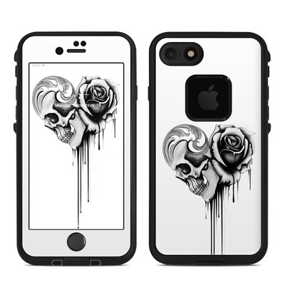 Lifeproof iPhone 7-8 Fre Case Skin - Amour Noir