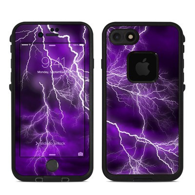Lifeproof iPhone 7 Fre Case Skin - Apocalypse Violet
