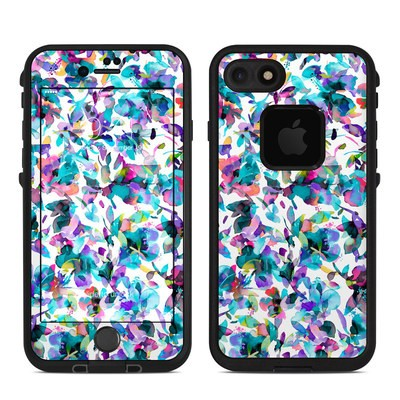 Lifeproof iPhone 7-8 Fre Case Skin - Aquatic Flowers