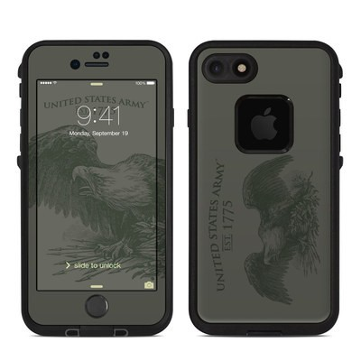 Lifeproof iPhone 7 Fre Case Skin - Army Crest