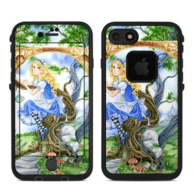 Lifeproof iPhone 7 Fre Case Skin - Alice's Tea Time
