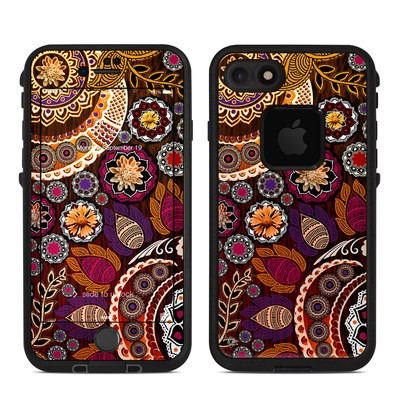 Lifeproof iPhone 7 Fre Case Skin - Autumn Mehndi