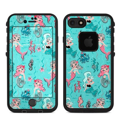 Lifeproof iPhone 7-8 Fre Case Skin - Babydoll Mermaids